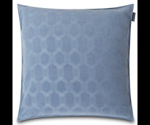 Lexington Dekokissen Jaquard Cotton Velvet steel blue ( 2 Größen)