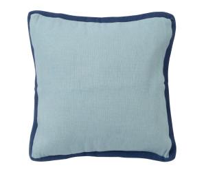 Lexington Dekokissen Jute Sham aqua/blau (50 x 50 cm)
