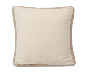 Lexington Dekokissen Jute Sham weiß/beige (50 x 50 cm)