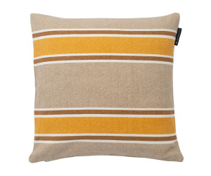 Lexington Dekokissen Striped Canvas Sham gelb/beige (50 x 50 cm)