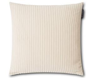 Lexington Dekokissen Velvet Cord Cotton off white / gebrochenes weiß (50 x 50 cm)