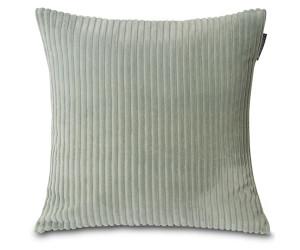 Lexington Dekokissen Velvet Cord Cotton  sage green / salbei (50 x 50 cm)