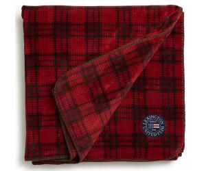 Lexington Holiday Fleece Throw Decke rot kariert (130x170cm)