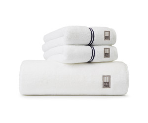 Lexington Handtuch Hotel Towel weiß/blau