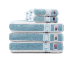 Lexington Handtuch New Authentic aqua/weiß