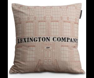 Lexington Grafikdruck Dekokissen House Sham creme (50x50cm)