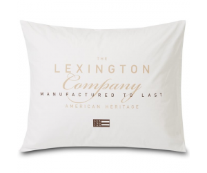 Lexington Kissenbezug Printed Cotton Poplin white (50x70cm)