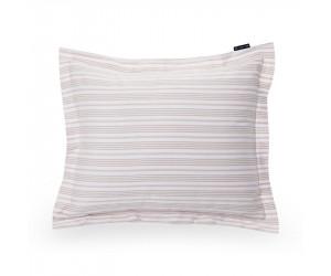 Lexington Kissenbezug Set Spring Striped Sateen rosa (80 x 80 cm)