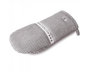 Lexington Kochhandschuh Living Authentic Stripe Oxford graphit/weiß