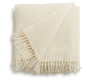Lexington Holiday Mohair Throw Decke weiß (130x170cm)