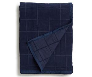 Lexington Samtdecke Velvet Bedspread Blanket dunkelblau (2 Größen)