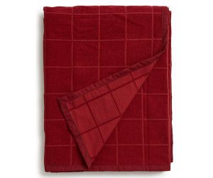 Lexington Samtdecke Velvet Bedspread Blanket rot (2 Größen)