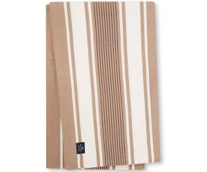 Lexington Tischdecke Striped Cotton Twill Tablecloth beige / weiß gestreift (150 x 250 cm)