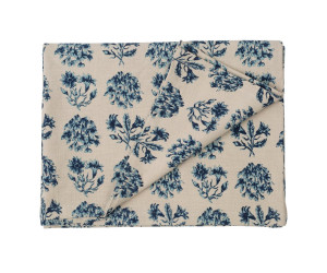 Lexington Tischdecke Vintage Flower Tablecloth blau/beige gemustert (150 x 250 cm)