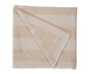 Lexington Wolldecke Wool Flag Throw beige (130 x 170 cm)