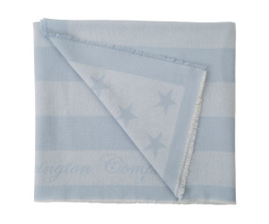 Lexington Wolldecke Wool Flag Throw hellblau (130 x 170 cm)