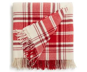 Lexington Wolldecke Classic Wool Throw rot-weiß (130x170cm)