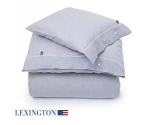 Lexington Bettwäsche Chambray grau