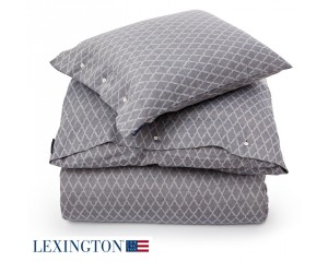 Lexington Bettwäsche Jacquard blau