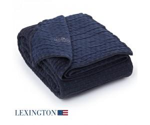 Lexington Tagesdecke Star navy