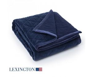 Lexington Tagesdecke Quilt Velvet navy