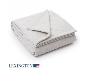 Lexington Tagesdecke Quilt Velvet creme