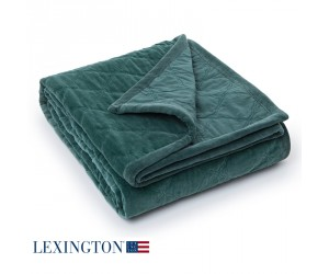 Lexington Tagesdecke Quilt Velvet grün