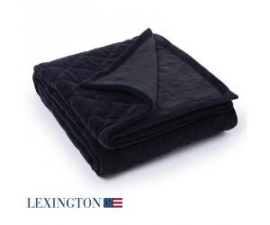 Lexington Tagesdecke Quilt Velvet schwarz