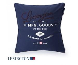 Lexington Dekokissen Authentic & Original Sham blau