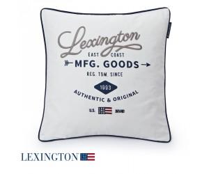 Lexington Dekokissen Authentic & Original Sham weiß