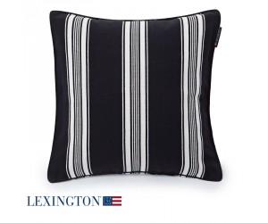 Lexington Dekokissen Tricking Striped Sham schwarz/weiß