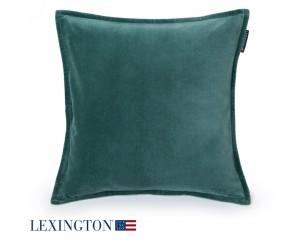 Lexington Dekokissen Velvet Sham grün