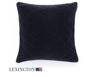 Lexington Dekokissen Velvet Sham schwarz