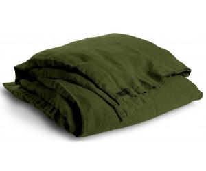 Lovely Linen schwere Leinen Bettwäsche Lovely grün