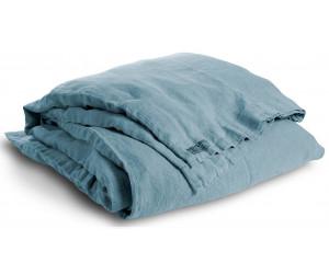 Lovely Linen schwere Leinen Bettwäsche Lovely hellblau