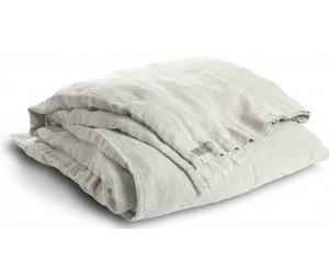 Lovely Linen schwere Leinen Bettwäsche Lovely hellgrau
