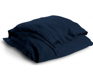Lovely Linen schwere Leinen Bettwäsche Lovely mitternachtsblau