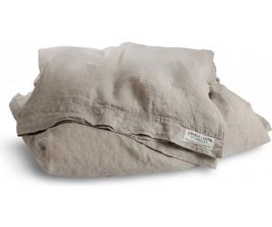 Lovely Linen vorgewaschene Leinen Bettwäsche Misty beige