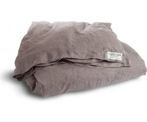 Lovely Linen vorgewaschene Leinen Bettwäsche Misty taupe
