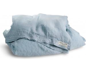 Lovely Linen vorgewaschene Leinen Bettwäsche Misty hellblau