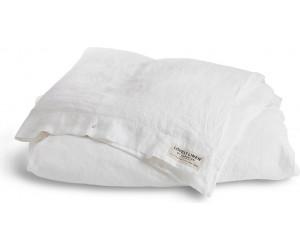 Lovely Linen vorgewaschene Leinen Bettwäsche Misty weiß