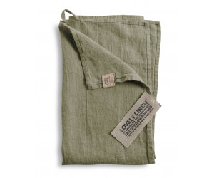 Lovely Linen Leinen Handtuch Lovely avocado