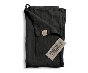 Lovely Linen Leinen Handtuch Lovely dunkelgrau