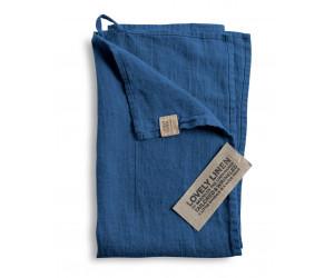 Lovely Linen Leinen Handtuchset Lovely jeansblau