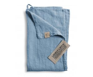 Lovely Linen Leinen Handtuch Lovely hellblau