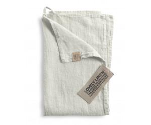 Lovely Linen Leinen Handtuch Lovely hellgrau