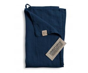 Lovely Linen Leinen Handtuchset Lovely mitternachtsblau