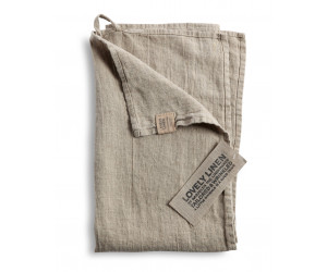 Lovely Linen Leinen Handtuch Lovely beige