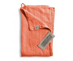 Lovely Linen Leinen Handtuch Lovely pfirsich