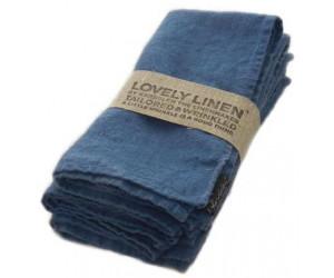Lovely Linen Leinen Tischwäsche Lovely jeansblau